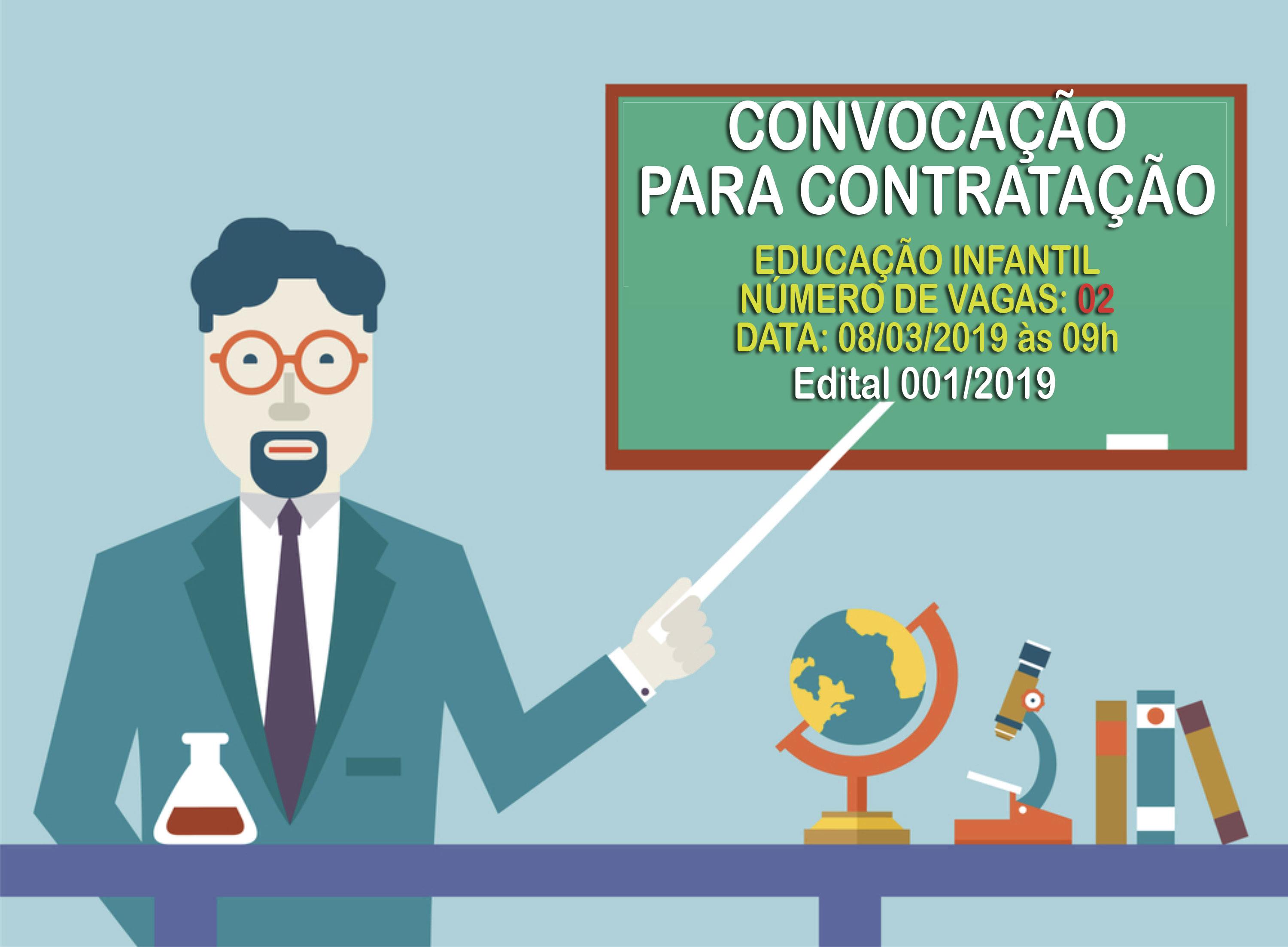 Convocação para Contratação - Educação Infantil