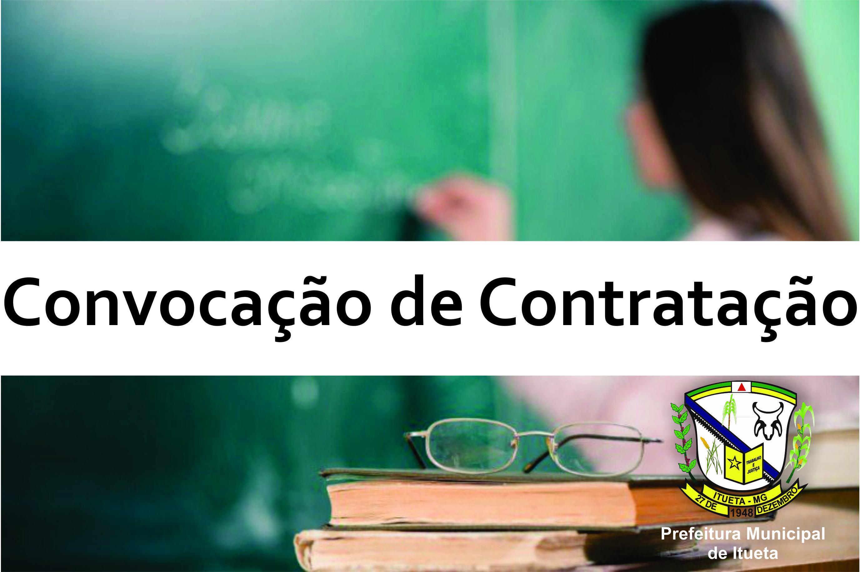Convocação de Contratação para Professores