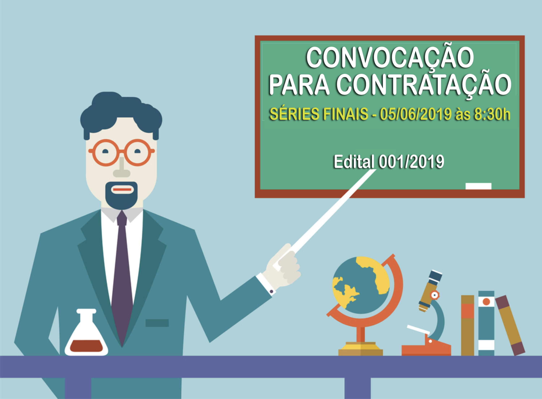 Convocação para Contratação - Séries Finais